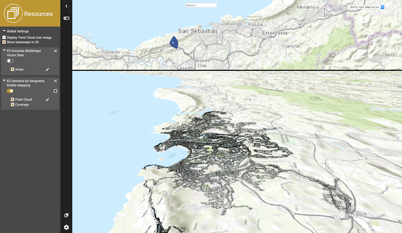 Use Your Base Map in 3D – 3D Mapping Cloud